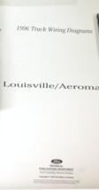1997 Ford Louisville Aeromax Phase II Camión Eléctrico Cableado Diagrama Manual - $17.64