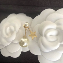 Authentic Christian Dior 2019 MY ABCDIOR TRIBALE EARRING STAR image 3