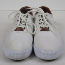 Polo Ralph Lauren Shoes 5 white Canvas Casual Sneakers - $9.75