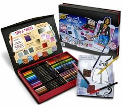 Crayola Fashion Super Star Build Your Virtual Closet Set Design Scan Style w App image 1