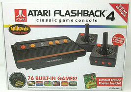 Atari Flashback 4 Special Edition Millipede Bonus Game & Limited Edition Poster - $23.36