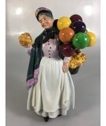 "Royal Doulton Biddy Pennyfarthing HN1843 China Figurine 9"" Made in England - $83.30"