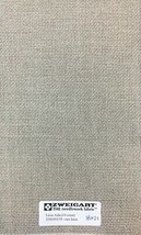 "Zweigart Linen Aida 14 Count Raw Linen Cross Stitch 18"" x 21"" or Custom ... - $14.20"
