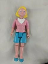 Fisher Price Dream Dollhouse Mom Woman Blue Shorts 1993 - $14.95