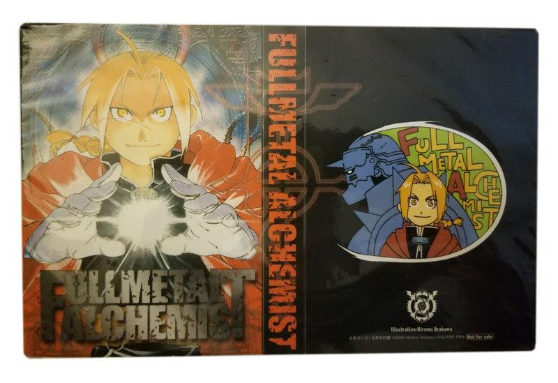 Fullmetal Alchemist 4x6 NFS Anime Photo / Post Card Album * FUNimation * Furoku