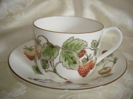 Coalport Strawberry Cup and Saucer Set - $23.75