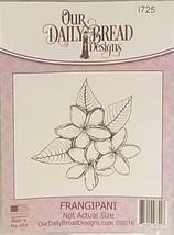 Our Daily Bread Designs Frangipani Rubber Stamp #I725