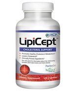 LipiCept Cholesterol Support - 120 Capsules - $59.99
