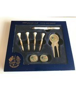 RYDER CUP 2001 GOLF GIFT SET. DIVOT TOOL, MARKERS, PENCIL AND TEES - $44.84