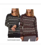 Calvin Klein Jeans Ladies' Marled Sweater NWT - $8.27+