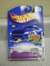 HOT WHEELS- CUSTOM '59 CADILLAC- 2002 FIRST EDITIONS- NO.032- NEW ON CAR... - $3.32