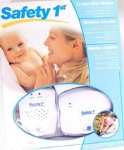 Safety 1st baby monitor 49230C 2 channel 400ft Range NIB - $19.77