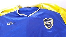 Old Boca Jr training football jersey original nike of the club, with num... - $98.01