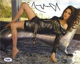Angelina Jolie Sexy Pose Signed 8x10 Photo Certified Authentic PSA/DNA COA - $267.29