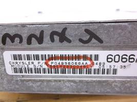 2001...01  CHRYSLER CONCORDE ENGINE CONTROL MODULE//COMPUTER...ECU...ECM..PCM