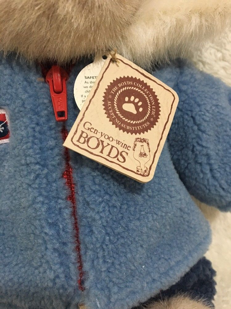 Boyds Bears Lexi Burrbruin Retired  With Tags T.J.'s Best Dressed 919818
