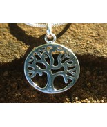 Spell Cast 925 Tree of Life Pendant 10 Ancient Spells from Book of Shadows - $55.55
