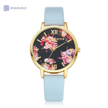 Gofuly Women Flower Ladies Dress Watches Top Luxury Brand Vintage Wrist ... - $7.99 CAD