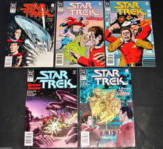 5 1990 DC Comics STAR TREK 7, 8, 9, 13, 14 F-FV Comic Books - $14.99