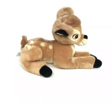 "Disney Store Exclusive BAMBI Deer 12"" Long Stuffed Animal Plush - $8.76"