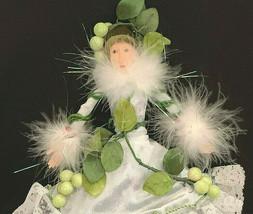 Patience Brewster Mistletoe Floral Fairy Figure Doll Christmas Ornament ... - $133.65