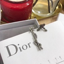 """Authentic Christian Dior """"DIO(R)EVOLUTION"""" EARRINGS Crystal Bee  image 3"""