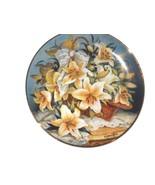 Princess Grace FRANKLIN MINT  Princesse de Monaco Lily collector Plate  ... - $13.60