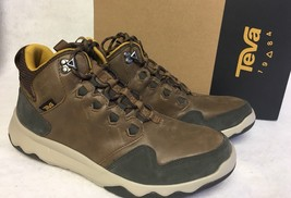 TEVA ARROWOOD LUX MID WP Brown MEN'S TRAIL BOOTS Hiking High Top 1013643 - £60.89 GBP
