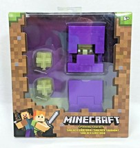 Minecraft Spinning Shulker Figure Launch Projectiles Mattel Mojang 2018 New - $16.95