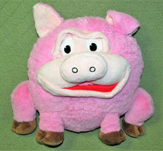 "PLAY FACE PALS PINK PIG PLUSH STUFFED ANIMAL PILLOW 11"" PILLOW TOY CHANG... - $14.85"
