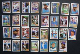 1992 Topps Micro Mini New York Mets Team Set of 31 Baseball Cards image 1