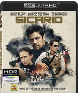 Sicario (4K Ultra HD+Blu-ray+Digital) - $15.95