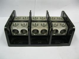 Littelfuse LS5301-3 SPLICER BLOCK 760 amp 600 Volt  3-pole Bolt-In Mount - $54.99