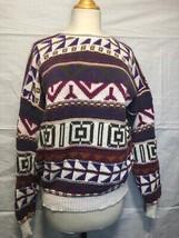 Colorful Tribal Pattern Knit Sweater by Alps Fine Women's Apparel - $29.69