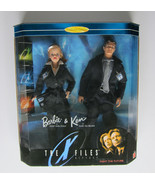 X-Files Barbie & Ken as Skully & Mulder 1998 NRFB Collectors Edition Giftset - $69.97