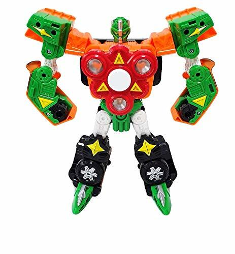 Hello CARBOT Spinnable Spinner Transforming Transformation Robot Action Figure T
