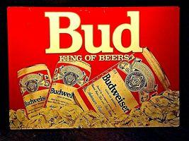 Vintage Bud King of Beers SignAA19-1437 image 3