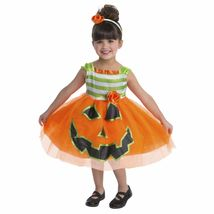 Toddler Pumpkin Dress Halloween Costume 2T 3T 4T Gorgeous - $28.99+