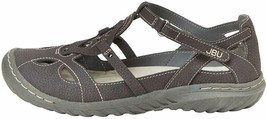 NEW JBU by Jambu Charcoal Ladies' Sydney Flat Sandals for Women JB19SNY01 image 2