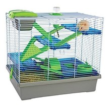 Rosewood Pico Hamster Cage, Extra Large, 50x36x47 cm Silver Hamsters Mice - $31.88