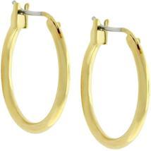 Small Golden Hoop Earrings - $11.00