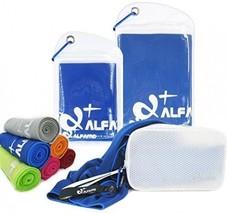 Alfamo Cooling Bandana, Extra Large Cooling Headband Towel Scarf, Soft Yoga Ice - $24.89