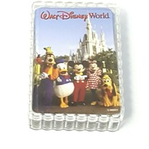 Vintage Walt Disney World Photo Playing Cards Castle Costume Characters - $12.16