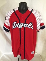 MLB LA Angels Dynasty Series baseball Club Series Genuine Jersey M - $29.00