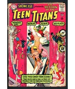 SHOWCASE #59-DC-TEEN TITANS RETURN-BARGAIN COPY - $14.90