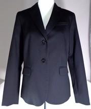 Pendleton Womens Black Wool Two Button Blazer Jacket Size 12 - $149.95