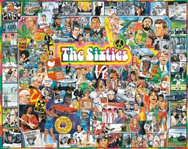 White Mountain Puzzles The Sixties - 1000 Piece Jigsaw Puzzle - $20.69