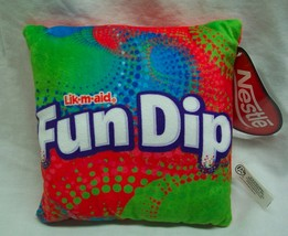 "Nestle Lik-m-aid FUN DIP CANDY 7"" Pillow Plush STUFFED ANIMAL Toy NEW w/... - $14.85"
