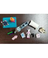 Bratz Barbie My Scene Liv Moxie Table, Cash Register, Lamp, Phone, Bear,... - $25.00