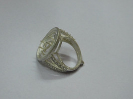 925 sterling Silver mount Ring,Marquise- 10X5 mm,RI-0228,ring,all size a... - $15.00